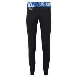 Concept Sports Los Angeles Dodgers Women's Charcoal Cameo Knit Leggings