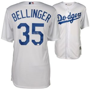 Cody Bellinger Los Angeles Dodgers Fanatics Authentic Autographed Majestic White Replica Jersey