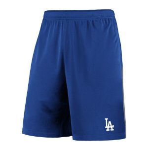 Fanatics Branded Los Angeles Dodgers Royal/Gray Crossbar Shorts