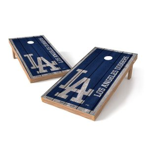 Los Angeles Dodgers 2′ x 4′ Big Vintage Authentic Tailgate Toss Set