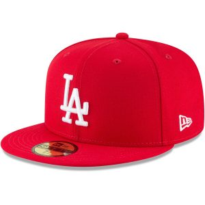 Los Angeles Dodgers New Era Fashion Color Basic 59FIFTY Fitted Hat – Red