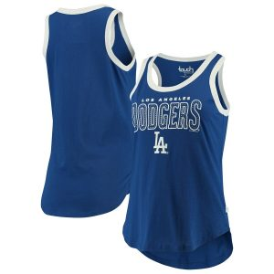 Los Angeles Dodgers Touch by Alyssa Milano Women's Varsity Tank Top – Royal