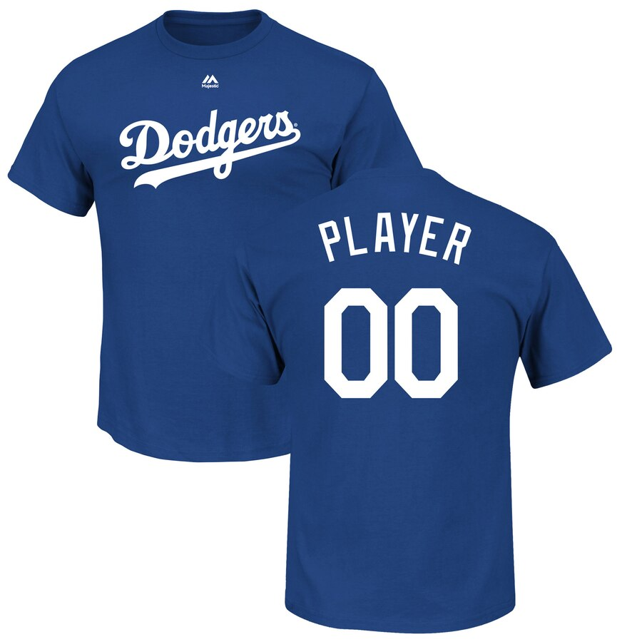 Majestic Los Angeles Dodgers Youth Royal Custom Roster ...