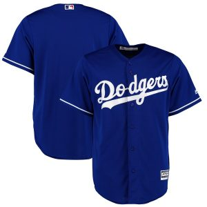 Men's Los Angeles Dodgers Majestic Royal Alternate Cool Base Jersey