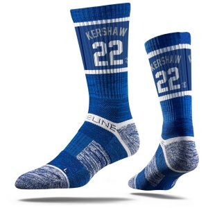 Clayton Kershaw Los Angeles Dodgers Youth Premium Player Crew Socks