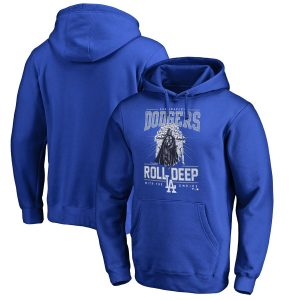 Los Angeles Dodgers Fanatics Branded Roll Deep with the Empire Pullover Hoodie – Royal