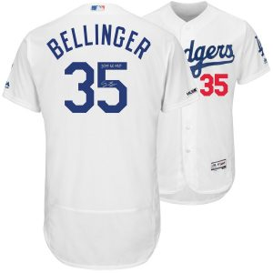 "Cody Bellinger Los Angeles Dodgers Fanatics Authentic Autographed 2019 NL MVP White Majestic Authentic Jersey with ""19 NL MVP"" Inscription"