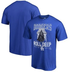 Los Angeles Dodgers Fanatics Branded Roll Deep with the Empire T-Shirt – Royal