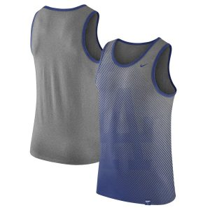 Los Angeles Dodgers Nike 1.7 Tri-Blend Tank Top – Heathered Gray