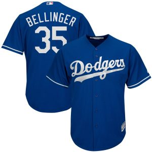 Cody Bellinger Los Angeles Dodgers Majestic Cool Base Player Jersey – Royal