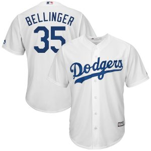 Cody Bellinger Los Angeles Dodgers Majestic Cool Base Player Jersey – White
