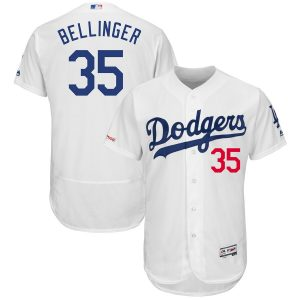 Cody Bellinger Los Angeles Dodgers Majestic Flexbase Authentic Collection Player Jersey – White