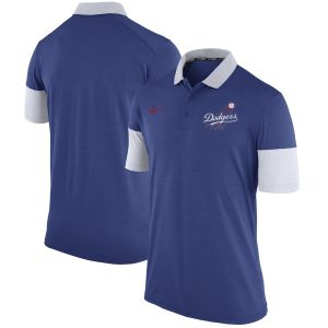 Los Angeles Dodgers Nike Cooperstown Collection Polo – Royal