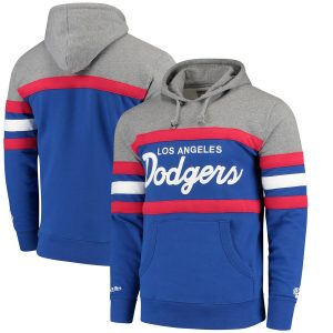 Los Angeles Dodgers Mitchell & Ness Head Coach Hoodie – Royal