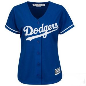Los Angeles Dodgers Majestic Women's Cool Base Jersey – Royal –