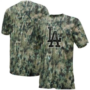 Los Angeles Dodgers Camo T-Shirt – Black/Tan