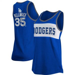 Cody Bellinger Los Angeles Dodgers 5th & Ocean by New Era Women's Player Name & Number Color Block Tank Top – Royal